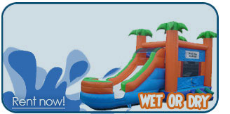 bounce house slide combo rentals tri cities washington