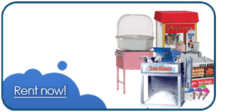 cotton candy sno cone rentals washington