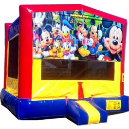 (C) Mickey & Friends Bounce House