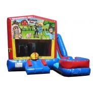 (C) Western Fun - 7n1 Bounce Slide combo (Wet or Dry)