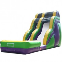 (B) 18ft Dry Wave Slide Rental