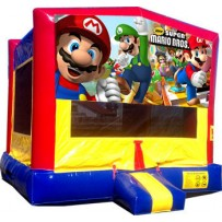 (C) Mario Bros Bounce House