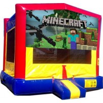 (C) Minecraft Bounce House
