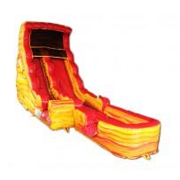 (B) 19ft Lava Dry Slide Rental
