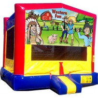 (C) Western Fun Bounce House