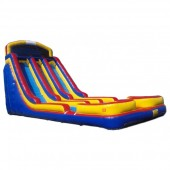 (C) 24ft Dual Lane Water Slide