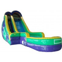 (B) 24ft Dry Slide Rental