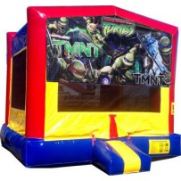 (C) Teenage Mutant Ninja Turtles - TMNT- Bounce House