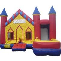 (A) Castle 7N1 Bounce Slide combo (Wet or Dry)