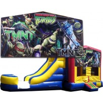 (C) Teenage Mutant Ninja Turtles - TMNT- Bounce Slide combo (Wet or Dry)