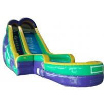 (B) 24ft Water Slide Rental