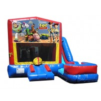 (C) Toy Story 7N1 Bounce Slide combo (Wet or Dry)