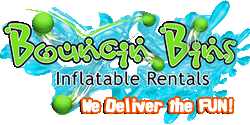 Tri Cities inflatable rentals - slides, bounce houses, obstacle courses, water slides